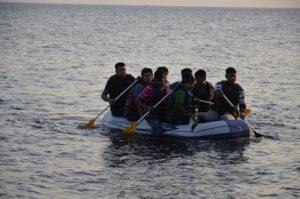 Arrivée de migrants sur l'île de Kos Grèce
